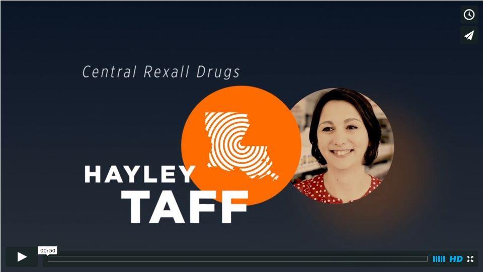 HUNT Telecom Central Rexall Drug Hayley Taff
